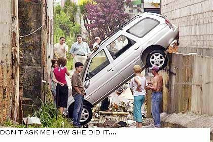 Never Let A Women Drive - Funny Pictures and Images