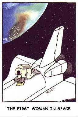 The First Women In Space - Funny Pictures and Images