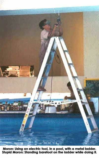 Dumb handyman - Funny Pictures and Images