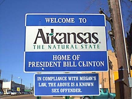 The Clinton Sign - Funny Pictures and Images