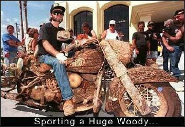Wood bike - Funny Pictures and Images