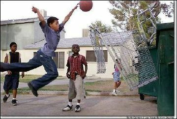 Basketball cart - Funny Pictures and Images