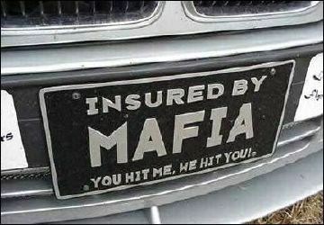 Mafia insurance - Funny Pictures and Images