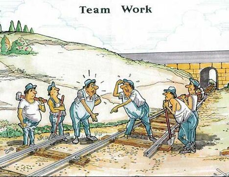 Team work at work - Funny Pictures and Images