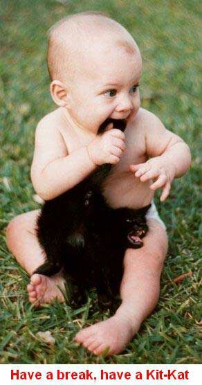 Hungry baby - Funny Pictures and Images