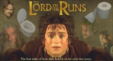 Lord of the Runs - Funny Pictures and Images