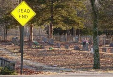 Dead End - Funny Pictures and Images