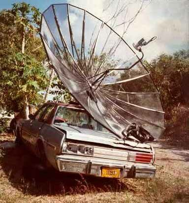 Satellite on the Go - Funny Pictures and Images
