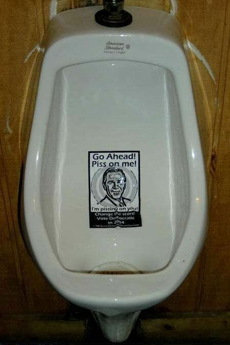 Political Toilet - Funny Pictures and Images