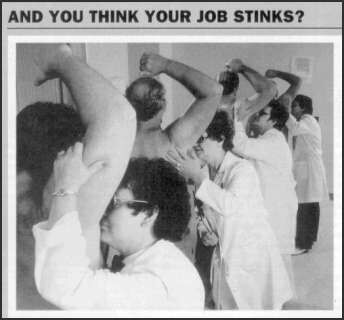 This job stinks - Funny Pictures and Images
