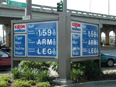 Costly Gas - Funny Pictures and Images