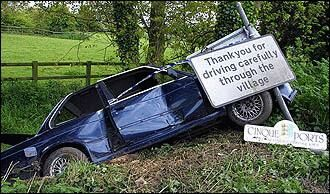 Thanks for driving carefully - Funny Pictures and Images