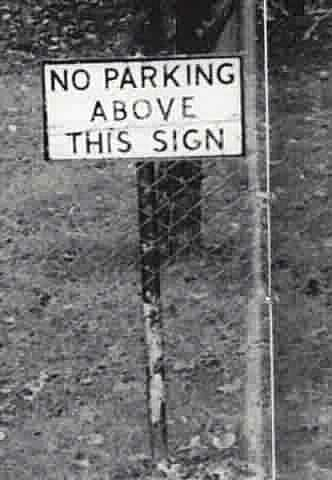 No parking - Funny Pictures and Images