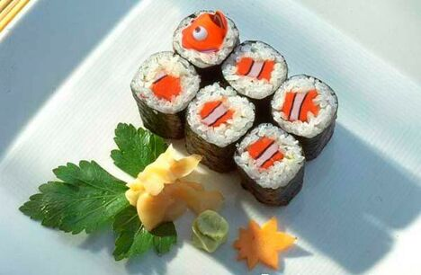 Fish Rolls - Funny Pictures and Images