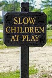 Slow children - Funny Pictures and Images