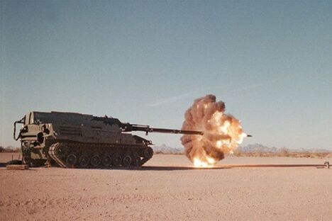 A Bullet Being Fired From A Tank - Funny Pictures and Images