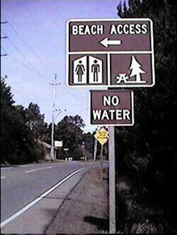 Beach but no water - Funny Pictures and Images
