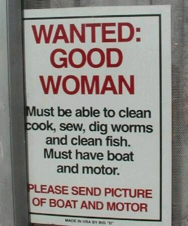 Wanted: Good Women - Funny Pictures and Images