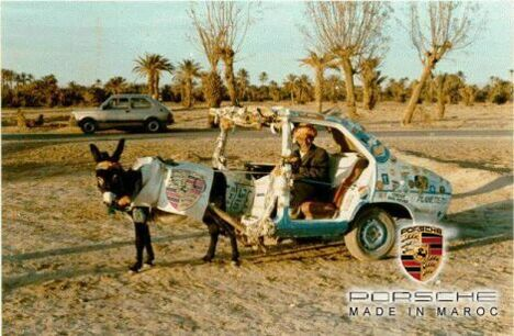 The Maroc Porsche - Funny Pictures and Images