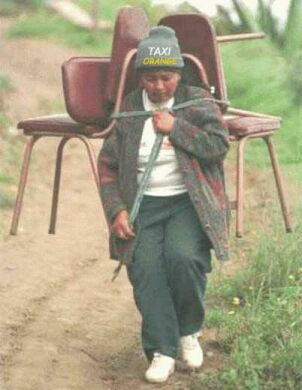 The Chair Carrier - Funny Pictures and Images
