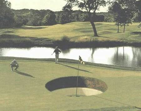 Crater Golf - Funny Pictures and Images
