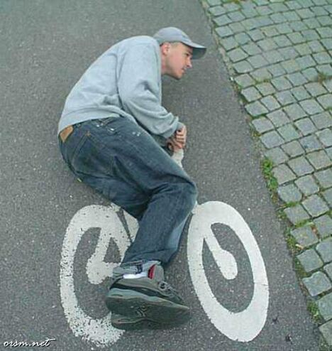 The Flat Cycle - Funny Pictures and Images