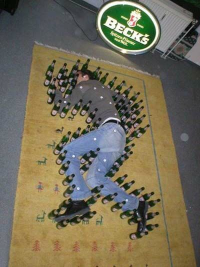 Bottle Outline - Funny Pictures and Images