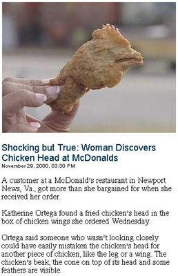 Chicken Heads - Funny Pictures and Images