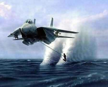 Jet Water Ski - Funny Pictures and Images