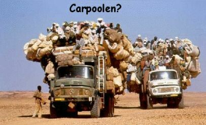 The Ultimate Carpool - Funny Pictures and Images