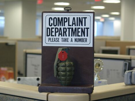 Complaint Department - Funny Pictures and Images
