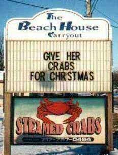 Crabs for Christmas - Funny Pictures and Images