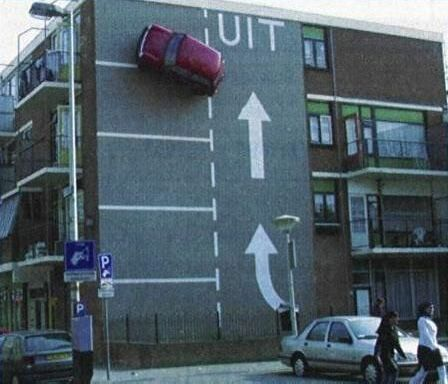 Vertical Parking - Funny Pictures and Images