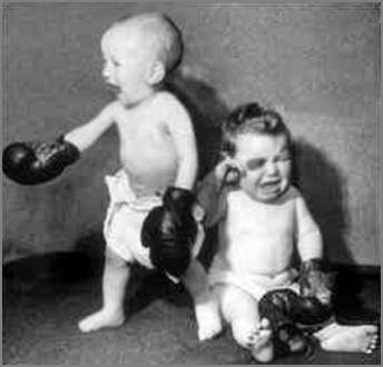 Child Wrestlers - Funny Pictures and Images