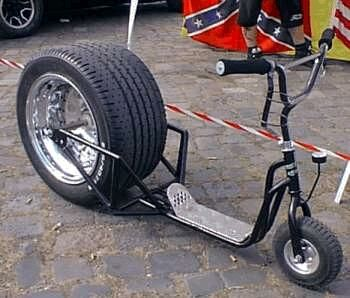 Bicycle or Motorcycle? - Funny Pictures and Images