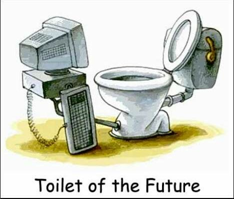 Future Toilet - Funny Pictures and Images