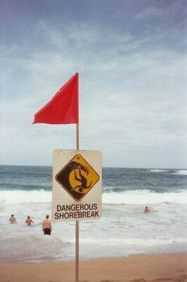Dangerous Shorebreak - Funny Pictures and Images