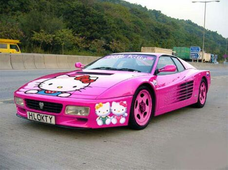 Not So Manly Sportscar - Funny Pictures and Images