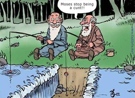 Right Place To Fish? - Funny Pictures and Images