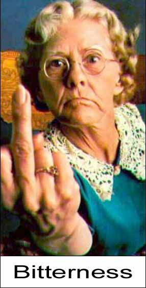 Angry Grandma? - Funny Pictures and Images