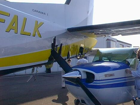 Aircraft Rotter Collision - Funny Pictures and Images