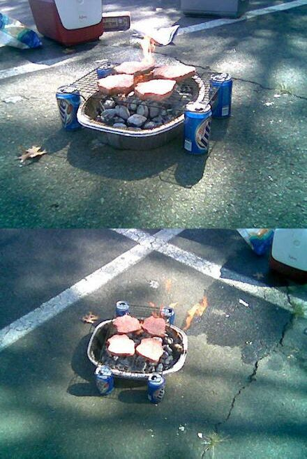 Homemade Bar-B-Q - Funny Pictures and Images