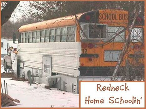 A trailer or a school bus? - Funny Pictures and Images