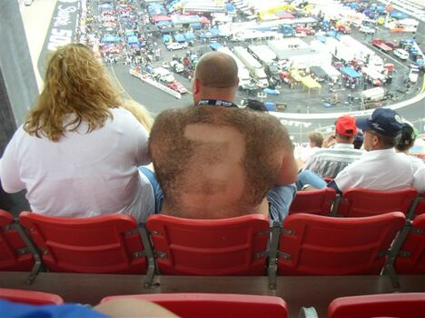 The biggest fan - Funny Pictures and Images