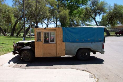 A makeshift truck - Funny Pictures and Images