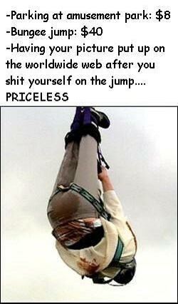 Shitty Bungee Jump - Funny Pictures and Images