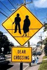 Watch out for people crossing - Funny Pictures and Images
