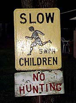 No hunting - Funny Pictures and Images