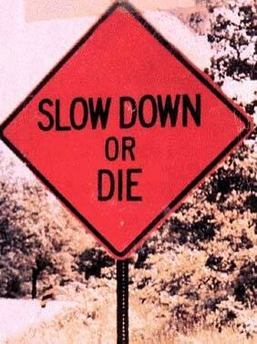 Slow Down - Funny Pictures and Images