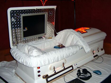 The Digital Coffin - Funny Pictures and Images